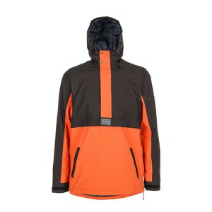 Yuki Threads Street Snowboard Jacket 2019 - Charcoal / Burnt Orange