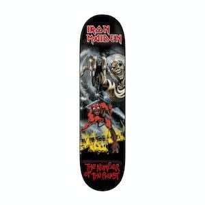 Zero x Iron Maiden No. Of The Beast Skateboard Deck