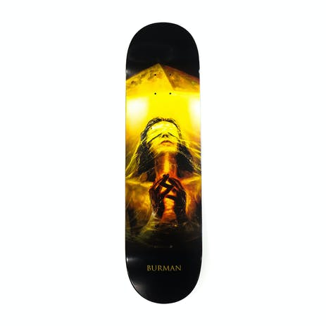 """Zero Burman Light & Dark 8.25"""" Skateboard Deck"""
