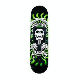 "Zero Cole MMXX 8.0"" Skateboard Deck - Black/Green"
