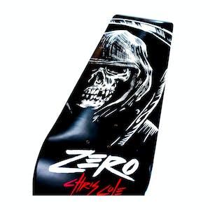 Zero Cole Reaper Skateboard Deck - Black/White