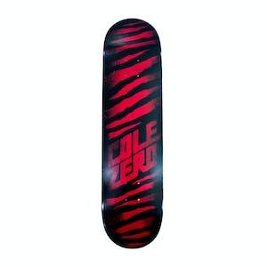 Zero Cole Ripper Skateboard Deck - Black/Red