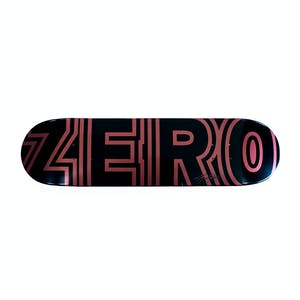 Zero Cole Signature Bold Skateboard Deck - Metallic