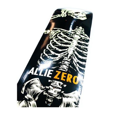 "Zero Allie Headcase 8.25"" Skateboard Deck - Black/White"