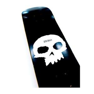 Zero Single Skull Skateboard Deck - Black/White