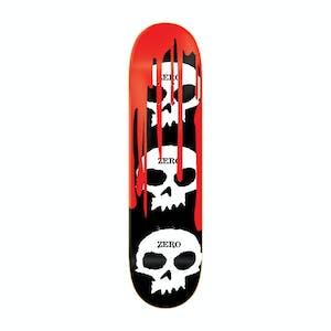 "Zero 3 Skull Blood 8.25"" Skateboard Deck"