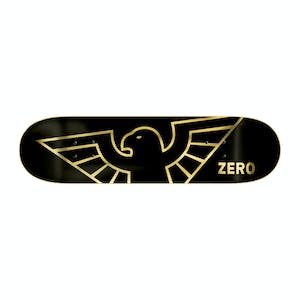"Zero Bird 8.25"" Skateboard Deck - Gold Foil"