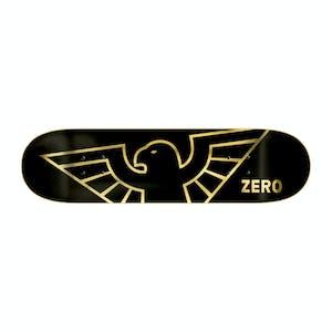 "Zero Bird 8.25"" Skateboard Deck - Gold Foil"