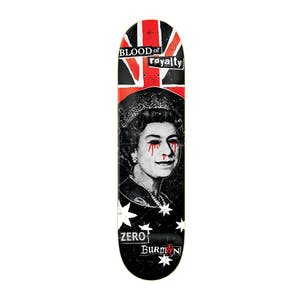 "Zero Burman Blood Royalty 8.5"" Skateboard Deck"