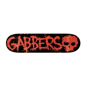 "Zero Gabbers Blood Red 8.25"" Skateboard Deck"