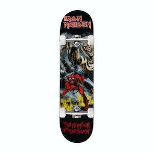 """Zero x Iron Maiden Number Of The Beast 8.0"""" Complete Skateboard"""