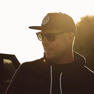 Dragon Baile Mick Fanning Signature Sunglasses - Matte Black H2O / Smoke P2